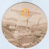 Pivovar Broumov coaster A page
