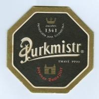 Purkmistr coaster A page