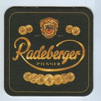 Radeberger coaster A page
