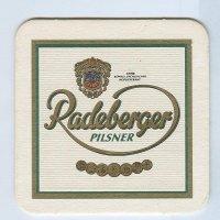 Radeberger coaster A page