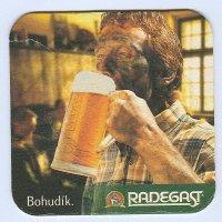Radegast coaster A page