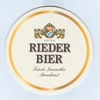 Rieder coaster B page