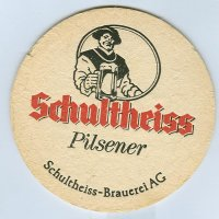 Schultheiss coaster A page