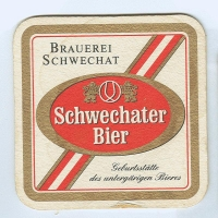 Schwechater coaster A page
