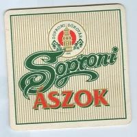 Soproni Ászok coaster B page