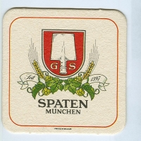 Spaten coaster A page