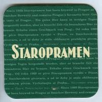 Staropramen coaster A page