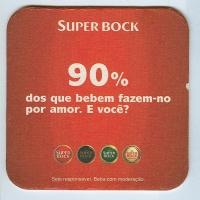 Super Bock coaster B page