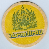 Turmbräu coaster A page