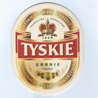 Tyskie coaster A page