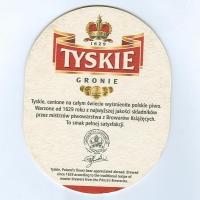 Tyskie coaster B page