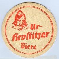 Ur-Krostitzer coaster A page