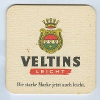 Veltins coaster A page