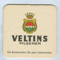 Veltins coaster B page