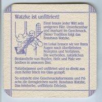 Watzke coaster B page