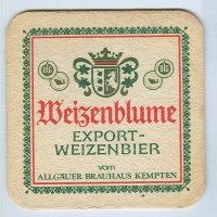 Weizenblume coaster A page