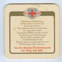 Weltenburger coaster B page
