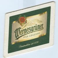 Wernesgrüner coaster A page