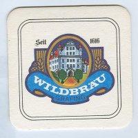 Wildbräu coaster A page