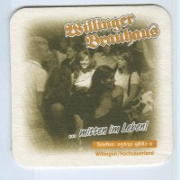 Willinger Brauhaus coaster A page