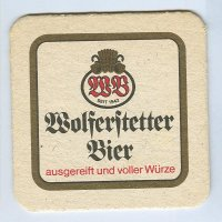 Wolferstetter coaster A page