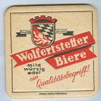 Wolfertstetter coaster A page