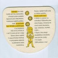 Zlatý Bažant coaster A page