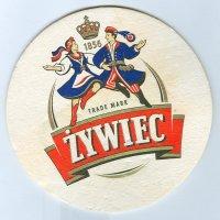Zywiec coaster A page